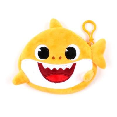 상어가족 동전지갑 옐로우