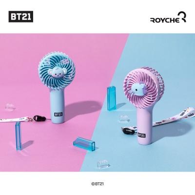 BT21 베이비 휴대용 미니 핸디 선풍기