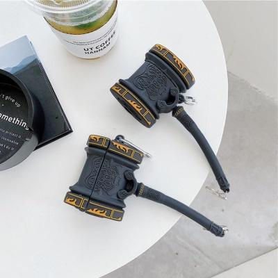에어팟 1 2 3세대 프로 특이한 블랙망치 실리콘케이스
