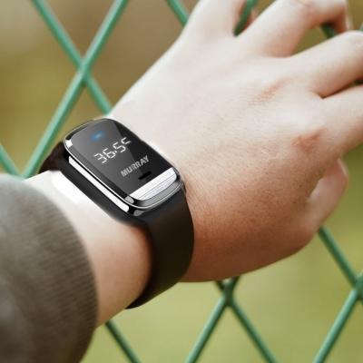 머레이 체온측정 디지털 손목시계 초음파 해충퇴치기