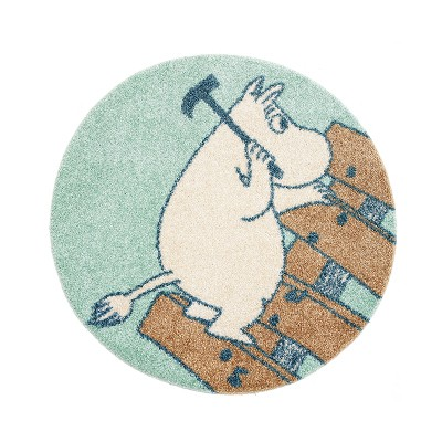 러그 moomin rug fixing mint
