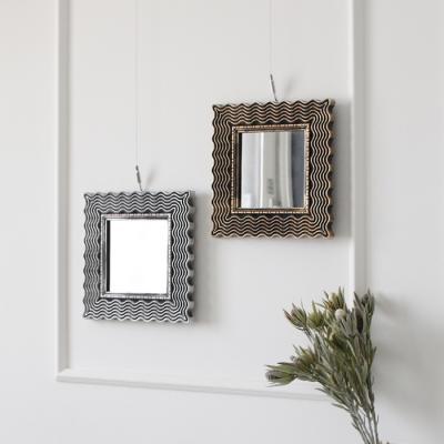 미니 사각 거울 - 2type 2color