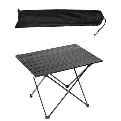 미디움 블랙 경량 롤 테이블