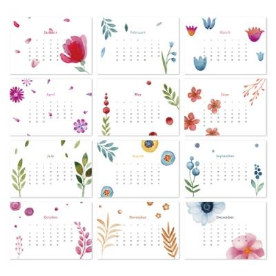 [2021 캘린더] Flower