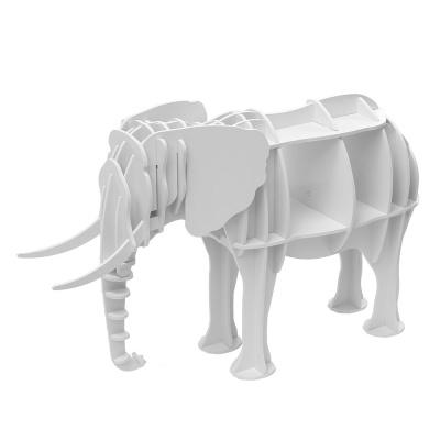 DIY 코끼리 동물조형 선반 책장 인테리어 책진열장