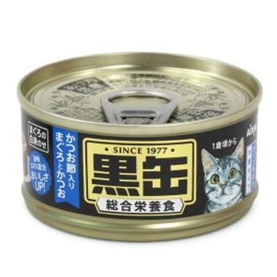 고양이 간식 캔 통조림 흑관 참치 가다랑어 80g