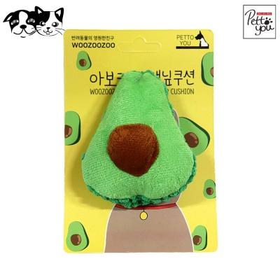 펫투유 우쭈쭈 아보카도 캣닢쿠션 (고양이 장난감)