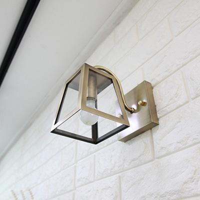 LED 프램벽등 - 브론즈(사이즈:소)
