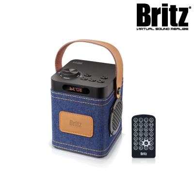 브리츠 휴대용 올인원 블루투스 스피커 BZ-C90 Denim