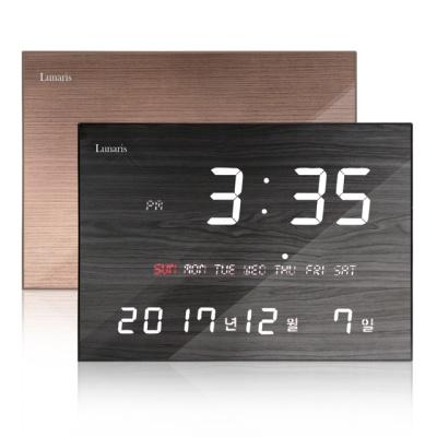 국산 FM수신 LED 디지털 전자 벽시계 인테리어 소품