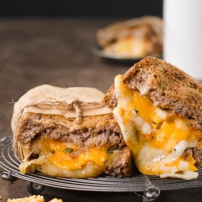 올 치즈 샌드위치