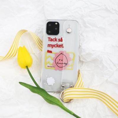 MonagustA 젤리 홀더 케이스 for i-Phone
