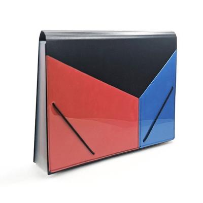 사선 도큐먼트 파일(빨강+파랑) (13칸)