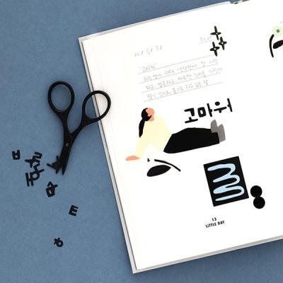 리틀띵스 한글 스티커 세트 (10장)