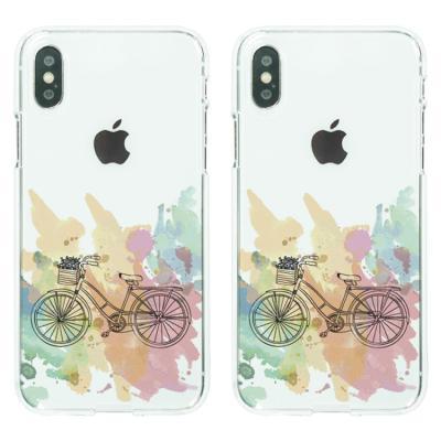 아이폰8/7플러스케이스 자전거 소프트젤리케이스