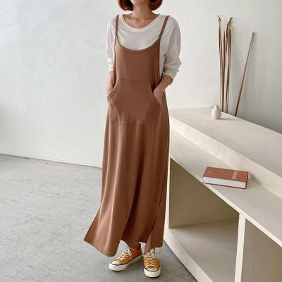 Overall Cami Long Dress