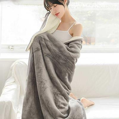 Invierno Lams Wool BLANKET 150x200 3color