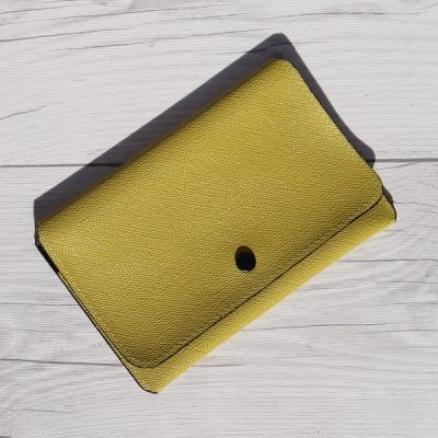 전자파차단 원단의 파우치 Type..웍스 여권지갑-옐로우 No.8900 HA223-3