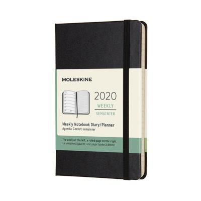 몰스킨 2020위클리/블랙 하드 P