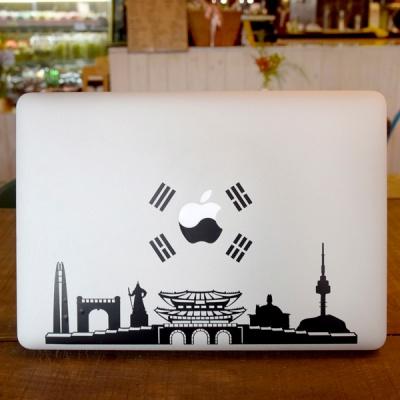[VENHO] 서울/태극 노트북 데칼 스티커