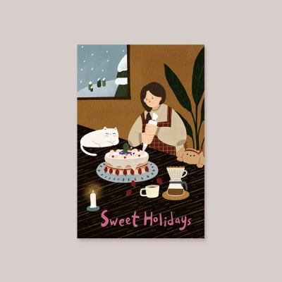[카드] SWEET HOLIDAYS