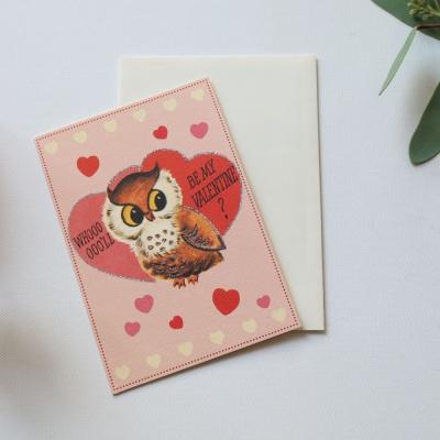발렌타인카드- Valentine Owl
