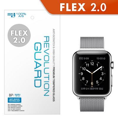 [프로텍트엠/PROTECTM] 애플워치 Apple Watch 레볼루션플렉스2.0 풀커버 액정보호필름