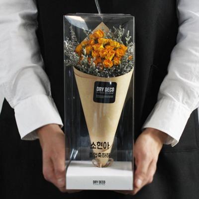 미니장미 드라이플라워 미디엄 꽃다발/자나장미