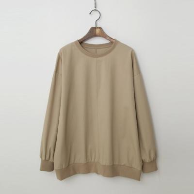 Back Zipper Sweatshirt