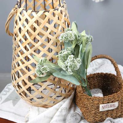 고속터미널꽃시장 불로초 부쉬 32cm 시들지않는꽃