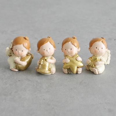 아기 천사 4종 장식 - 2color