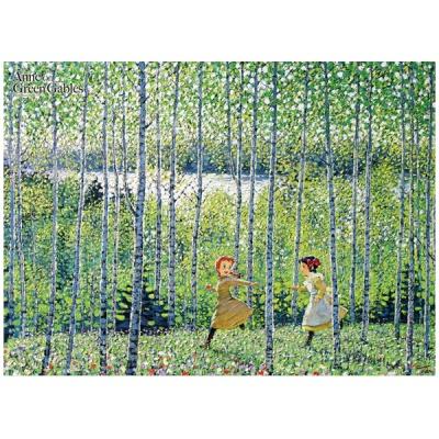 500조각/빨강머리앤 /자작나무숲의녹색바람 /퍼즐