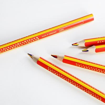 스테들러 무지개 삼각 점보 색연필