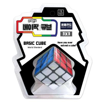 큐브랜드 3x3 베이직큐브 / 유아 큐브 블럭 장난감
