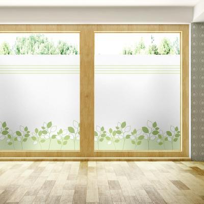 창문 유리창 시트지 칼라 안개시트지 로이그린라인01