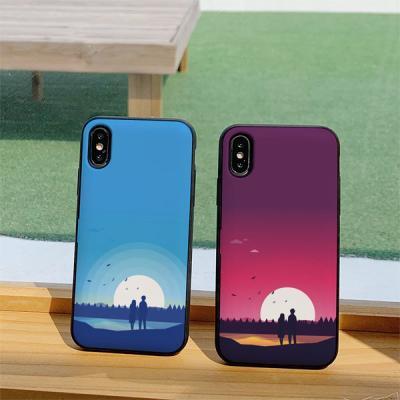 아이폰8 풍경 카드케이스