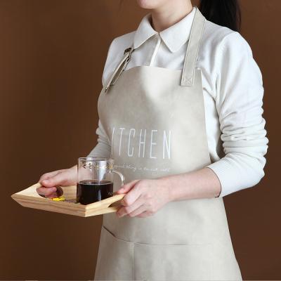 푸코 키친 인조가죽 에이프런(2color)