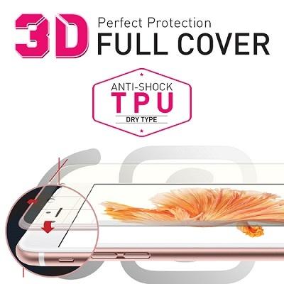 아이폰6S 전용 풀커버 충격방지 액정보호필름(우레탄)