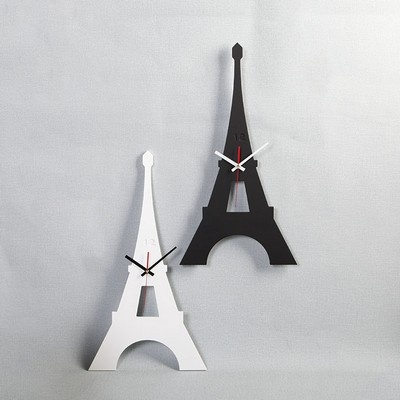 스칸-우드 에펠타워 디자인 시계