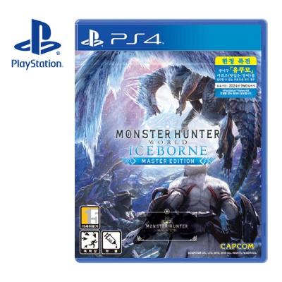 PS4 몬스터 헌터 월드 아이스본 마스터 에디션 한글판