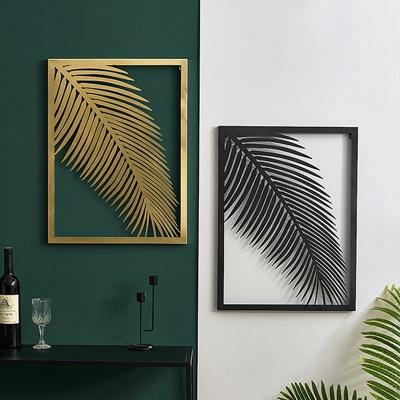 아파트32 홈 골드 철제 보타니컬 액자/ 대형 식물