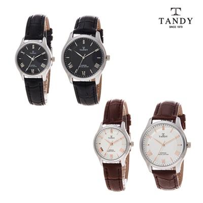 탠디 TANDY 더 리얼 다이아몬드 커플시계 T-1663