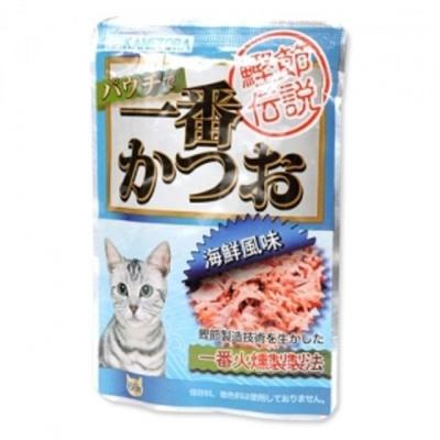 애묘 반려묘 길고양이 냥이 간식 해물맛파우치60g