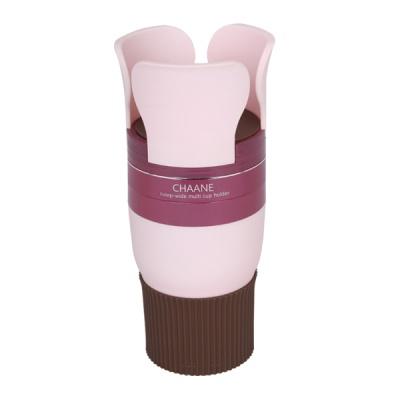 [차아네] 6단 와이드 컵홀더 핑크 CHA-6WPI