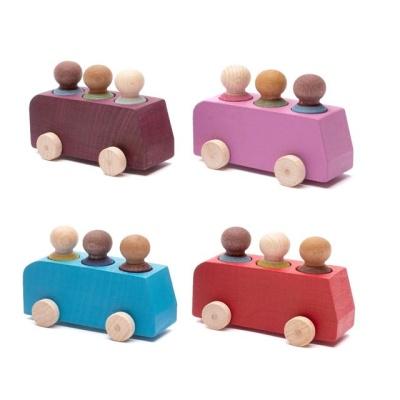 루부로나 루부타운 원목 미니카 원목 자동차 장난감