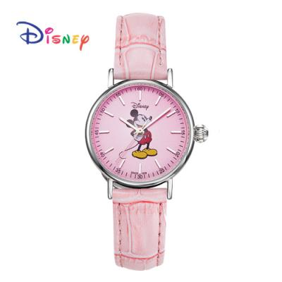 Disney 월트디즈니 미키가죽시계 OW-157PK