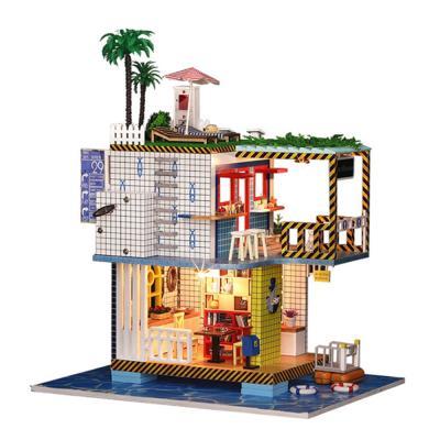 [adico]DIY 미니이처 풀하우스 - 오션 풀빌라