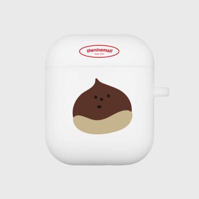 chestnut 에어팟 케이스[white]