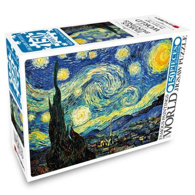 명화 직소퍼즐 150pcs 별이 빛나는 밤