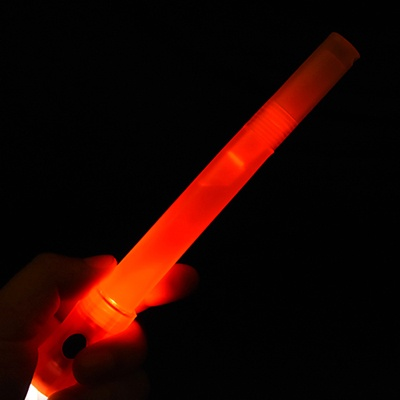 LED 멀티랜턴 건전지 야광스틱 [레드]
